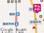 賃貸24服部店 地図
