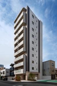 アバンティ桜宮外観(北東面)